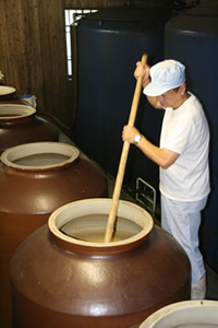 Prepared in Large Earthenware Crocks