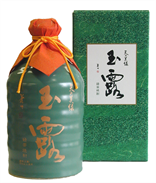 "Green Tea Shochu – ""Ten no Miroku Gyokuro""Gyokuro""(720ml)Celadon pot"
